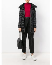 Save The Duck - Black Padded Coat - Lyst