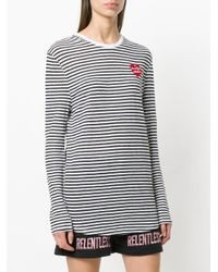 Zoe Karssen - White Striped Jumper - Lyst