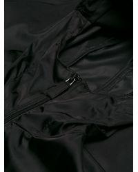 Prada Black Hooded Windbreaker