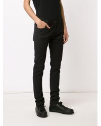 Ann Demeulemeester - Black Straight Leg Trousers for Men - Lyst