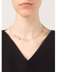 Marie-hélène De Taillac - Metallic Multi Charm Necklace - Lyst