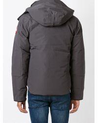 Canada Goose | Gray 'Selkirik' Parka Coat for Men | Lyst