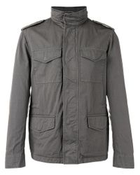 Tod's - Gray Cargo Pocket Jacket for Men - Lyst