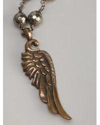 Roman Paul - Metallic Wing Necklace for Men - Lyst