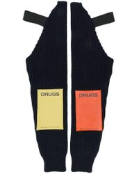 DRUGS sleeves Raf Simons pour homme en coloris Blue