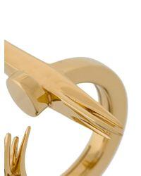 Kasun - Metallic Nail Ring - Lyst
