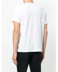 DIESEL - White Micro Studded T-shirt for Men - Lyst