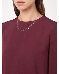 Melissa Joy Manning - Multicolor White Topaz Drop Necklace - Lyst