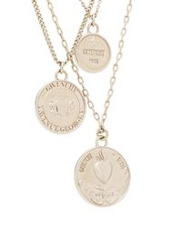 Givenchy - Metallic Medallion Necklace - Lyst