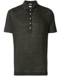 Massimo Alba - Gray Polo Shirt for Men - Lyst
