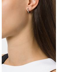 Shaun Leane - Metallic 18kt White Gold 'talon' Earrings - Lyst