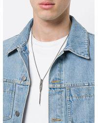 Emanuele Bicocchi - Metallic Skull Chain Necklace for Men - Lyst