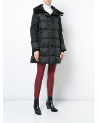 Canada Goose Black Oversized Padded Coat