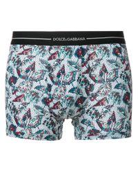 Dolce & Gabbana - Blue Umbrella Print Boxers for Men - Lyst