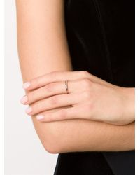 EF Collection - Metallic Diamond Triple Interlocking Eternity Ring - Lyst