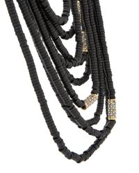 Camila Klein - Metallic Resin Details Necklace - Lyst