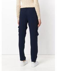 Polo Ralph Lauren - Blue Side Pockets Trousers - Lyst