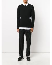 Givenchy - Black Drawstring Track Pants for Men - Lyst
