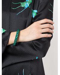 Aurelie Bidermann - Green Resin Inlay Positano Bracelet - Lyst