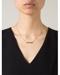 Wouters & Hendrix - Metallic 'amour' Necklace - Lyst