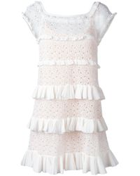 Antonino Valenti - White Genziana Dress - Lyst