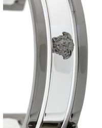 Versace - Metallic Medusa Cuff Bracelet for Men - Lyst