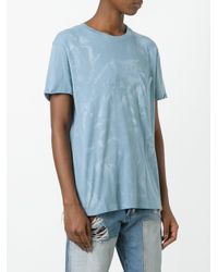 Faith Connexion - Blue Chest Pocket T-shirt - Lyst