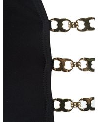 Tory Burch - Black Metallic Detail Swimsuit - Lyst