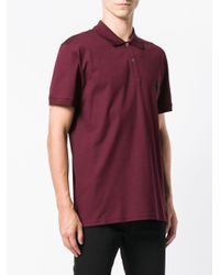 Alexander McQueen - Red Skull Logo Polo Shirt for Men - Lyst
