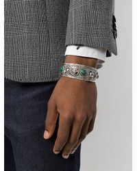 Gucci - Metallic Garden Bracelet for Men - Lyst