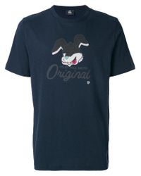 PS by Paul Smith - Blue Bunny Motif T-shirt for Men - Lyst