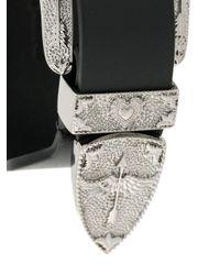 RED Valentino - Black Red(v) Belt Buckle Bracelet - Lyst