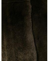 Yves Salomon - Brown Four Rex Jacket - Lyst