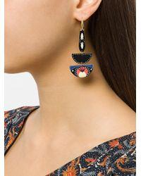 Isabel Marant - Blue Ma Vallee Earrings - Lyst