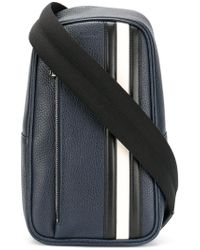 Bally | Blue Small Over The Shoulder Bag for Men | Lyst