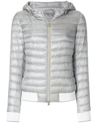 Herno - Gray Ultralight Luxury Gym Jacket - Lyst