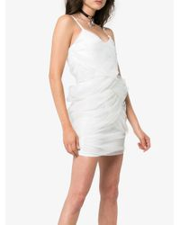 Y. Project - White Tulle Wrapped Slip Dress - Lyst