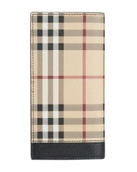 Burberry - Multicolor Haymarket Check Continental Wallet - Lyst