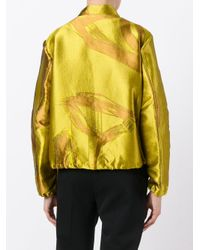 Dorothee Schumacher - Yellow Zipped Jacket - Lyst