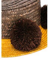 Eshvi - Brown Jupiter Hat - Lyst