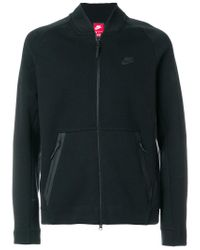 Nike Black Jordan Wings Fleece Hoodie for men