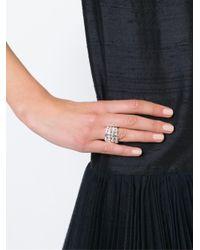 Aurelie Bidermann - Metallic 'marella' Ring - Lyst