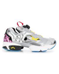 Reebok Instapump Fury Og Vp Sneakers in Metallic - Lyst 93dd0bcb0