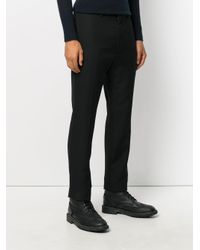 Haider Ackermann - Black Tailored Trousers for Men - Lyst