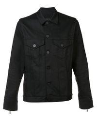 En Noir - Black Denim Rider Jacket for Men - Lyst