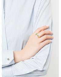 Jemma Wynne Green Limited Edition Colombian Open Ring