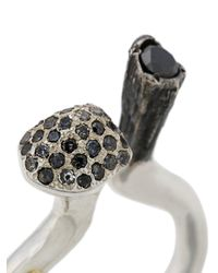 Rosa Maria - Metallic Kavis Ring - Lyst