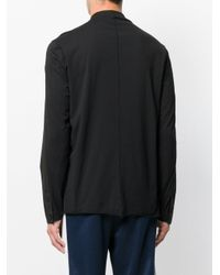 Transit | Black Collarless Shirt for Men | Lyst