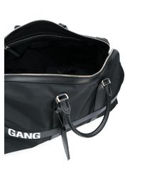 Neil Barrett - Black Gang Print Holdall for Men - Lyst