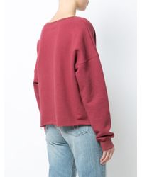 Simon Miller - Red Oversized Sweater - Lyst